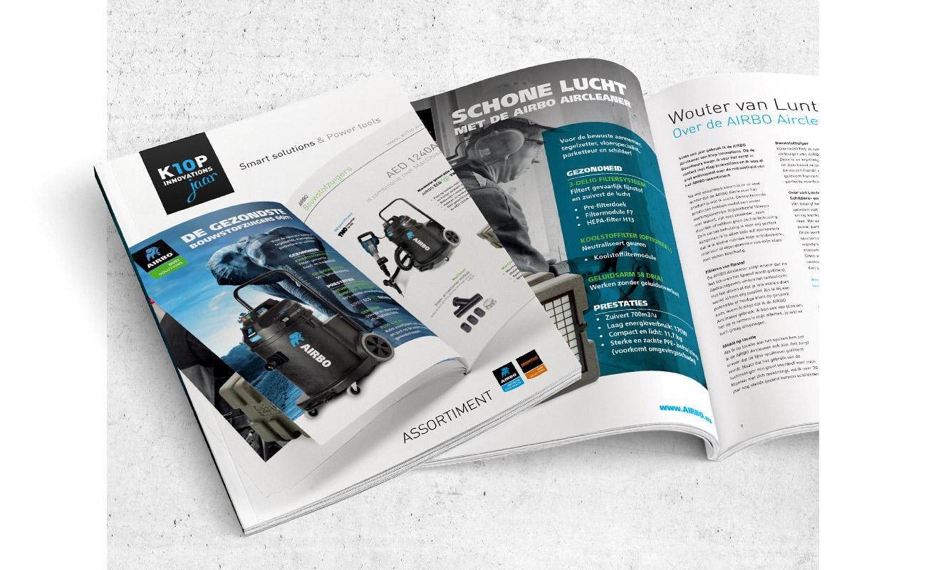 Klop Innovations brochure // GSTALT