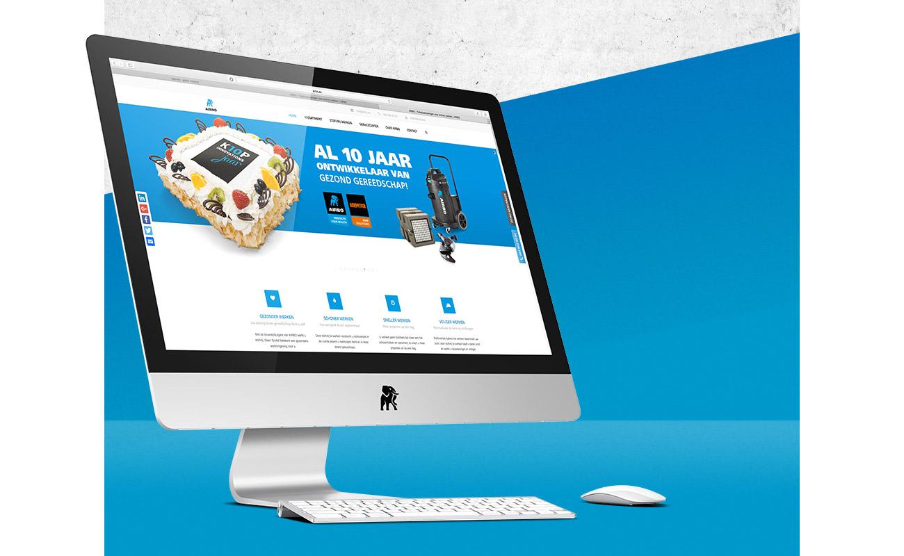 Klop Innovations website // GSTALT