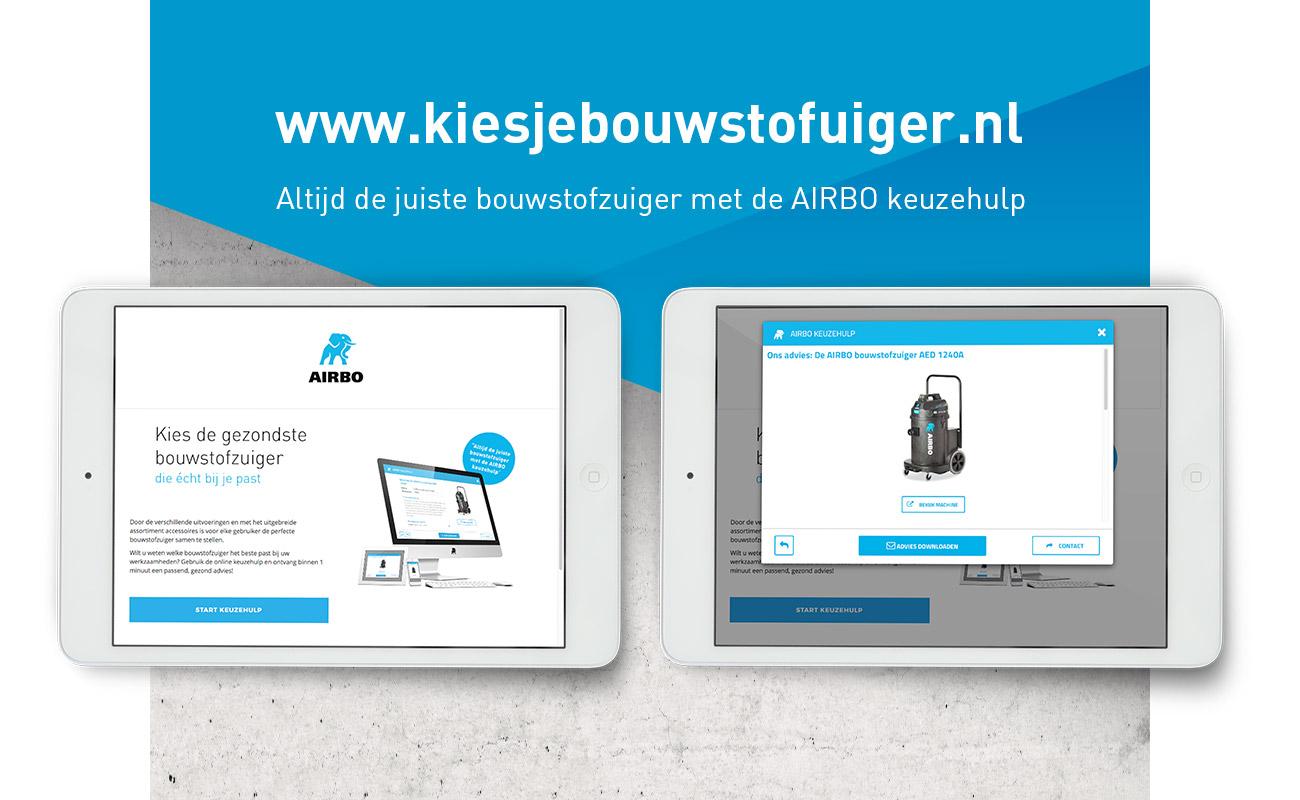Klop Innovations kiesjebouwstofzuiger.nl // GSTALT