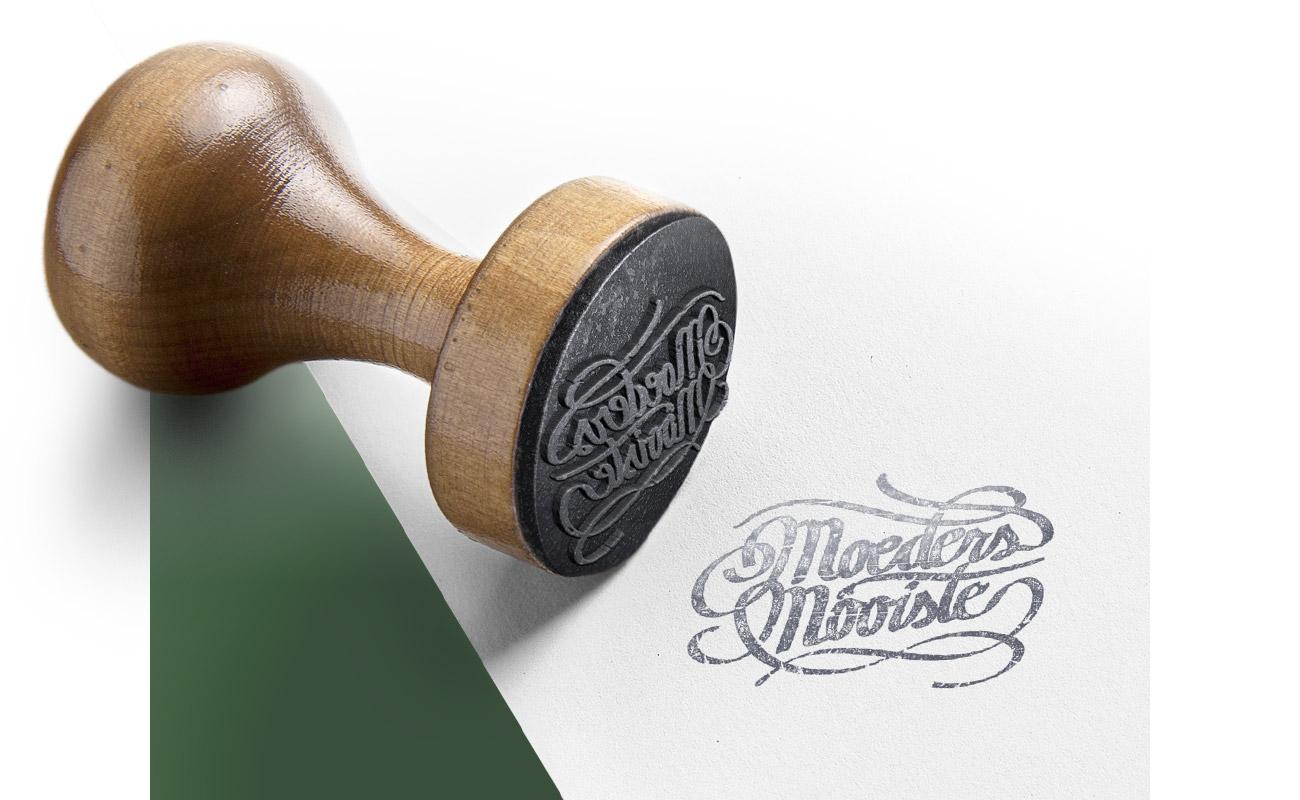 Bij Moeders Mooiste logo // GSTALT