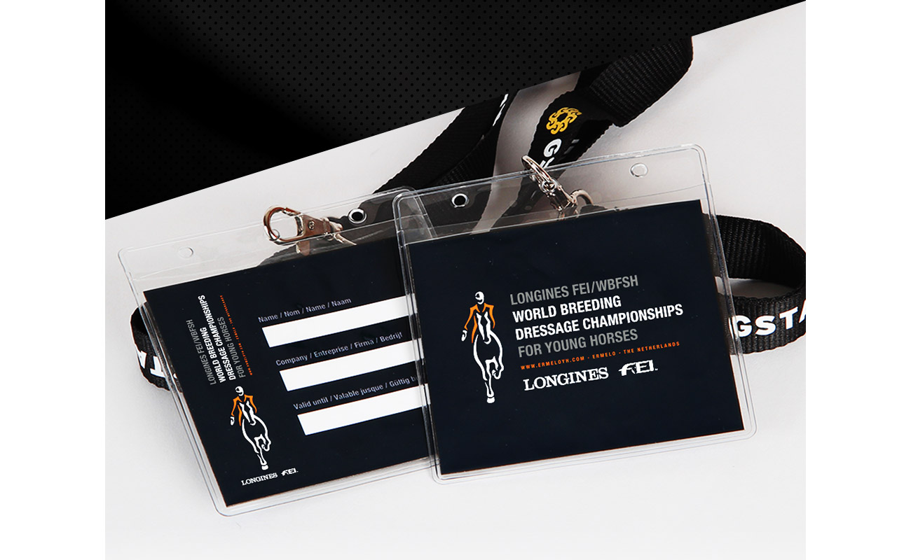 WK dressuur badges // GSTALT