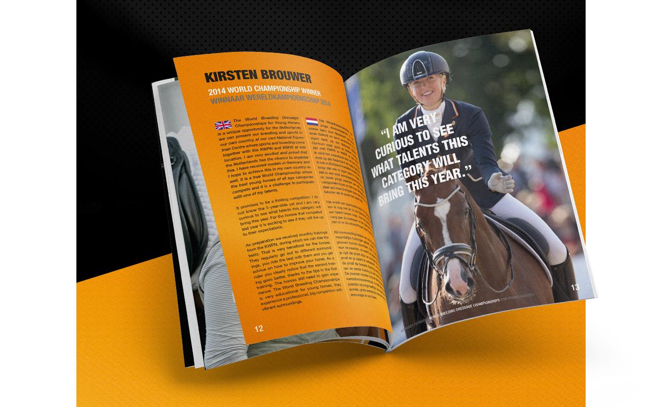 WK dressuur brochure // GSTALT